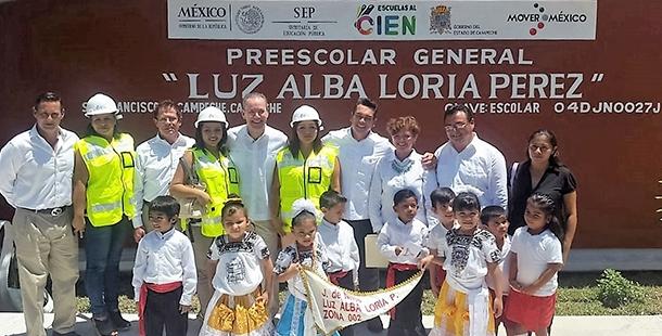Lista la inversión SEP - INIFED para detonar la economía en Campeche